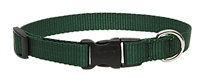 "Lupine 3/4"" Green 15-25"" Adjustable Collar"