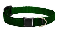 Lupine Solid Green Safety Cat Collar