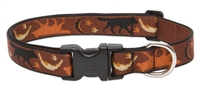 "LupinePet Originals 1"" Shadow Hunter 16-28"" Adjustable Collar for Medium and Larger Dogs"