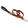 "Lupine 1"" Shadow Hunter 4' Padded Handle Leash"