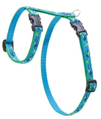 "Retired Lupine 1/2"" Sea Ponies 9-14"" H-Style Cat Harness"