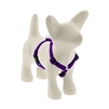 "Lupine 1/2"" Purple 12-20"" Roman Harness"
