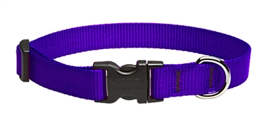 "Lupine 3/4"" Purple 13-22"" Adjustable Collar"