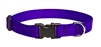 "Lupine 3/4"" Purple 9-14"" Adjustable Collar"