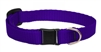 Lupine Solid Purple Safety Cat Collar
