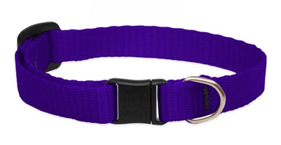 LupinePet Solid Purple Safety Cat Collar