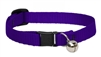 "Lupine 1/2"" Purple Cat Safety Collar with Bell"