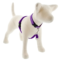 "Lupine 3/4"" Purple 16-26"" No-Pull Harness"
