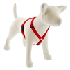 "Lupine Solid 3/4"" Red 12-20"" Roman Harness"