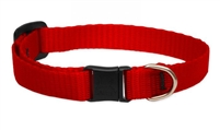 "Lupine 1/2"" Red Cat Safety Collar"