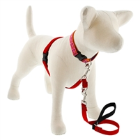 "Lupine 3/4"" Red 16-26"" No-Pull Harness"