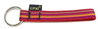 "Retired Lupine 1/2"" Sunset Stripe Keychain"