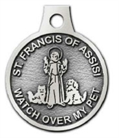 St. Francis of Assisi Pet Tag - Made in the USA