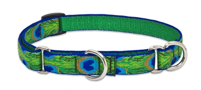 "Lupine 3/4"" Tail Feathers 10-14"" Martingale Training Collar"