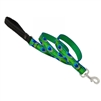 "Lupine 1"" Tail Feathers 4' Padded Handle Leash"