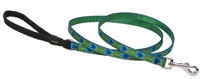 "Lupine 1/2"" Tail Feathers 6' Padded Handle Leash"