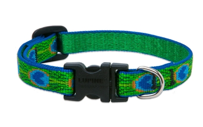 "Lupine 1/2"" Tail Feathers 8-12"" Adjustable Collar"