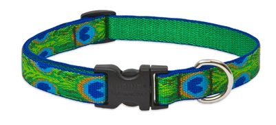 "Lupine 3/4"" Tail Feathers 9-14"" Adjustable Collar"