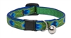 "Lupine 1/2"" Tail Feathers Cat Safety Collar with Bell"
