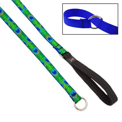 "Lupine 1"" Tail Feathers Slip Lead"