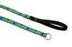 "Lupine 3/4"" Tail Feathers Slip Lead"
