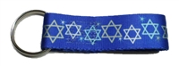 Tuff Lock Star of David Keychain - 1""
