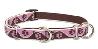 "Lupine 3/4"" Tickled Pink 14-20"" Martingale Training Collar"