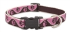 "Lupine 3/4"" Tickled Pink 15-25"" Adjustable Collar"