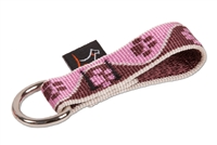 Lupine Tickled Pink Collar Buddy - Medium Dog