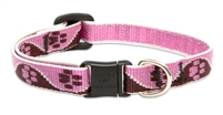 "Lupine 1/2"" Tickled Pink Cat Safety Collar"