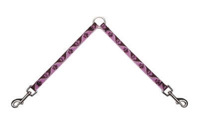 "Lupine Tickled Pink 9"" Coupler for Small Dogs"
