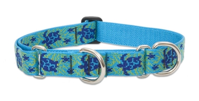 "Lupine 1"" Turtle Reef 15-22"" Martingale Training Collar"