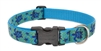 "LupinePet Originals 1"" Turtle Reef 16-28"" Adjustable Collar for Medium and Larger Dogs"