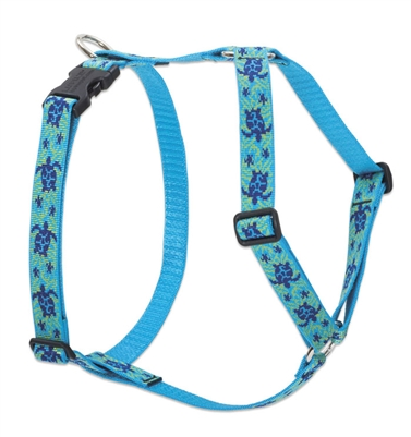 "Lupine 1"" Turtle Reef 20-32"" Roman Harness"