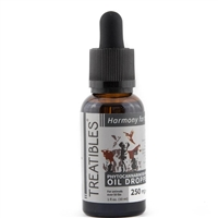 250 mg Organic Oil Dropper Bottle – All Species