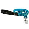 "LupinePet 1"" Turtle Reef 4' Padded Handle Leash"