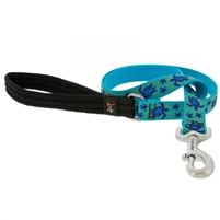 "Lupine 1"" Turtle Reef 4' Padded Handle Leash"