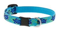 "Lupine 1/2"" Turtle Reef Cat Safety Collar"