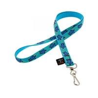 "LupinePet Original Design 1/2"" Turtle Reef Lanyard"