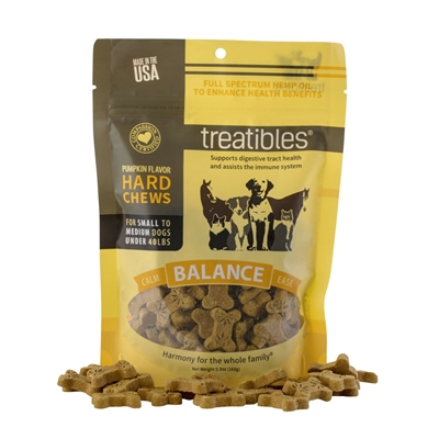Balance Pumpkin Flavor Hard Chews – Canine Small