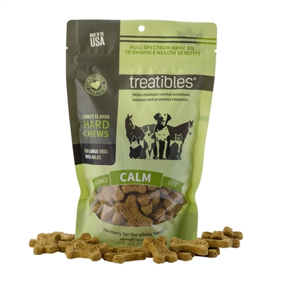 Calm (Turkey Flavor) Hard Chews – Canine Large