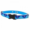 "Lupine High Lights 1"" Blue Paws Underground Containment Collar"