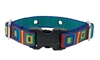 "Lupine Retired Square Dance 3/4"" UCC Collar (R-22) - Size 9-12 (X-Small)"