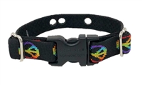 "Lupine Retired Woofstock 3/4"" UCC Collar (3 Hole) - Size 9-12 (X-Small)"