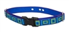 "Lupine Sea Glass 3/4"" Underground Containment Collar - Medium Dog"