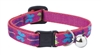 "Lupine 1/2"" Wing It Cat Safety Collar with Bell"