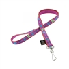 "LupinePet Original Design 1/2"" Wing It Lanyard"