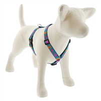 "Lupine 3/4"" Wet Paint! 14-24"" Roman Harness"