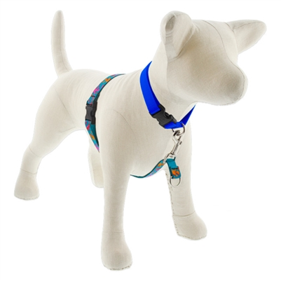 "Lupine Wet Paint! 16-26"" No-Pull Harness - Medium Dog"