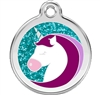 Red Dingo Small Glitter Unicorn Tag